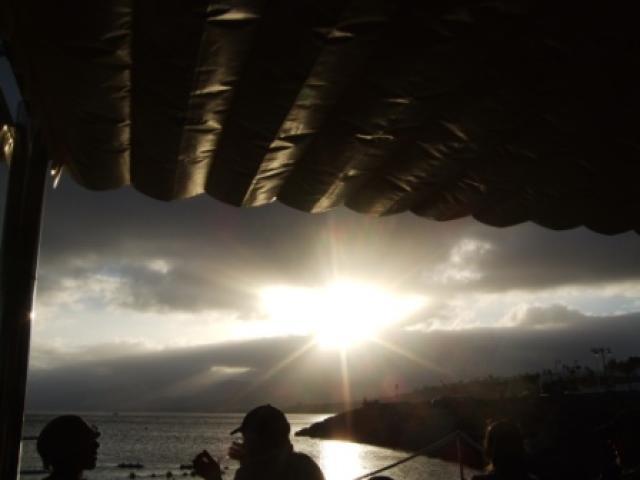 View from Bar Playa at Playa Chica - 27 Lago Verde, Puerto del Carmen, Lanzarote